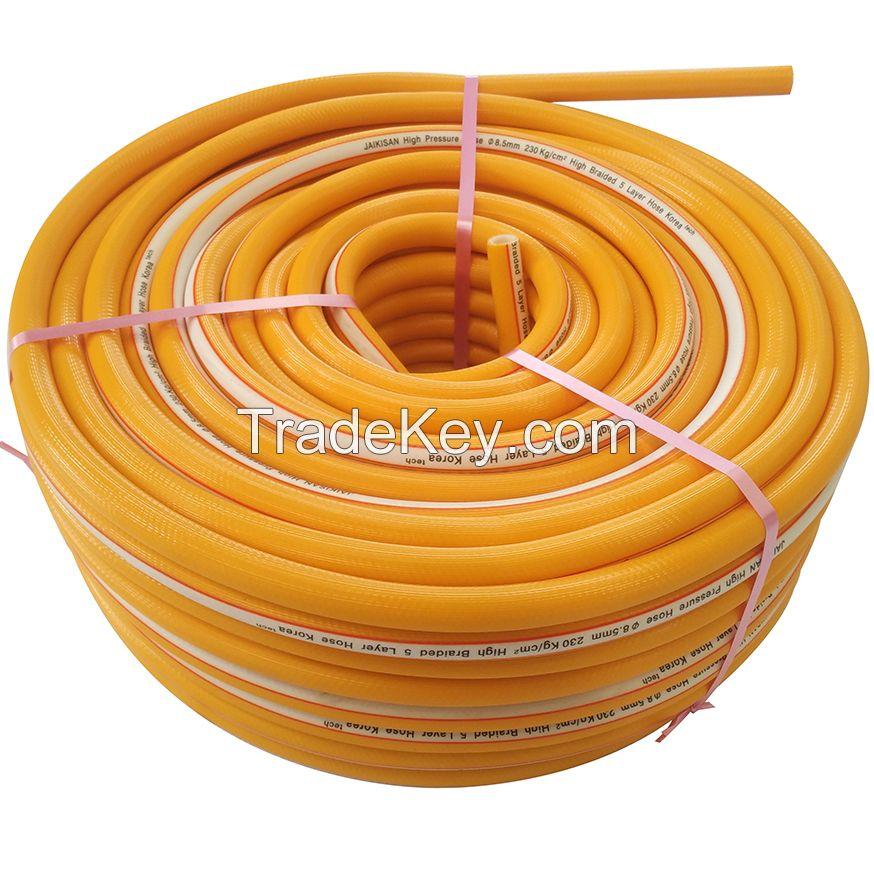 High pressure agricultural spray hose Korea technology manufacturer