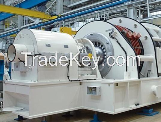 Siemens SGT5-2000E turbine with Generator SGen5-100A-2P
