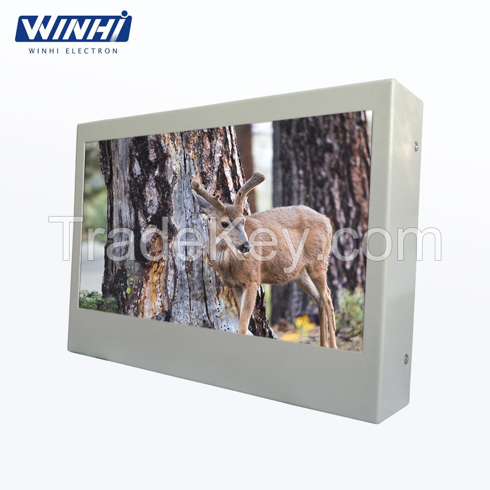 10.1inch waterproof outdoor picture frame outdoor led advertising screen outdoor advertising display