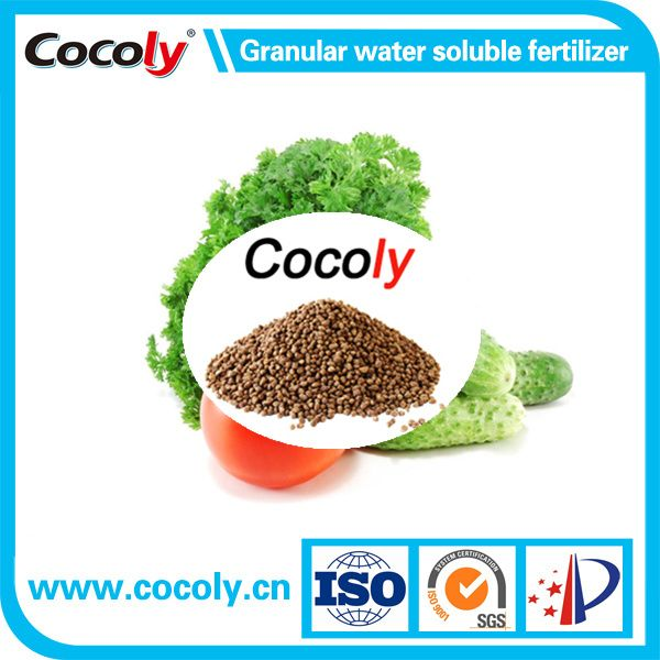 Cocoly NPK + TE fertilizer with 100% water soluble