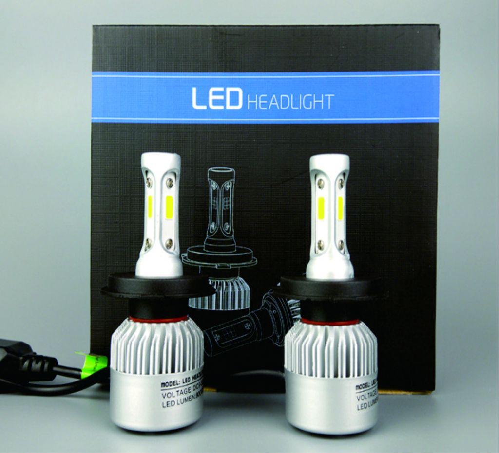 auto Lighting H1 H7 H4 H11 H3 9005 9006 880 H13 Car LED Headlight 8000LM Super Bright Driving Fog Lights Replace Bulb Lamp Waterproof