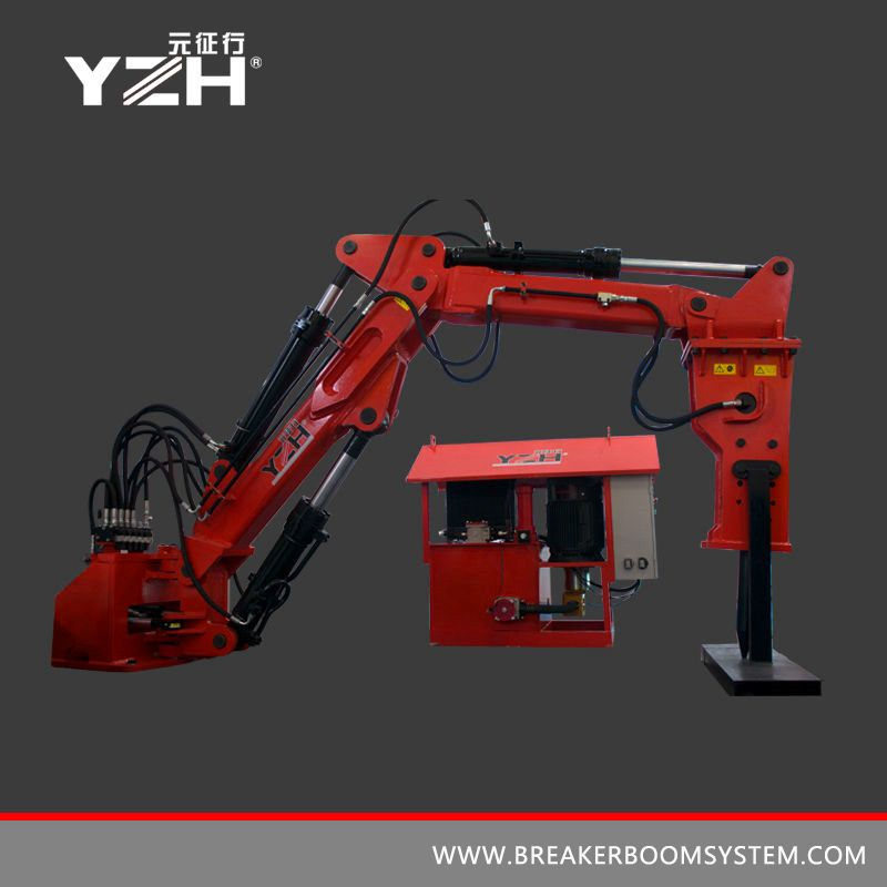 Fixed Hydraulic Rock Breaker Boom Systems For Underground Mining