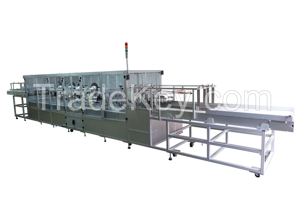 PML 340 Special Offline Clamshell Containers Labeling Machine