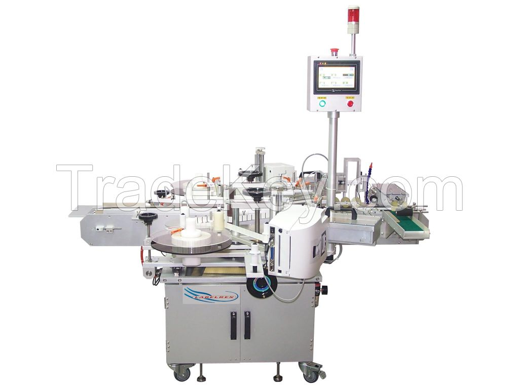 PML 620E Corner Wrapping Two Sided Labeling Machine And Barcode Printer
