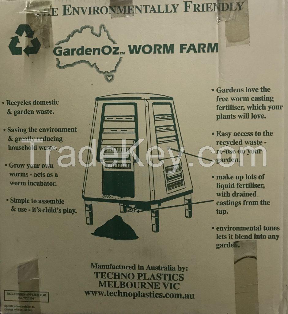 New Unboxed GardenOz 210lt Worm Farm