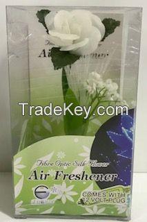 Fibre Optic Car Air Freshener - Rose Scented