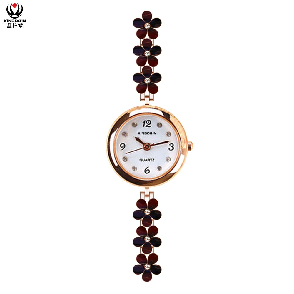 XINBOQIN China Supplier Wholesale Japan Movement PC21 Quartz Watch Lady Fashion 3ATM Water Resistant Alloy Wrist Watches Custom