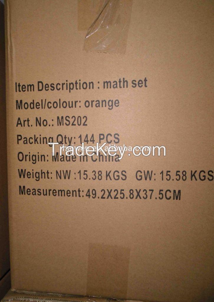 Math set , geometry box