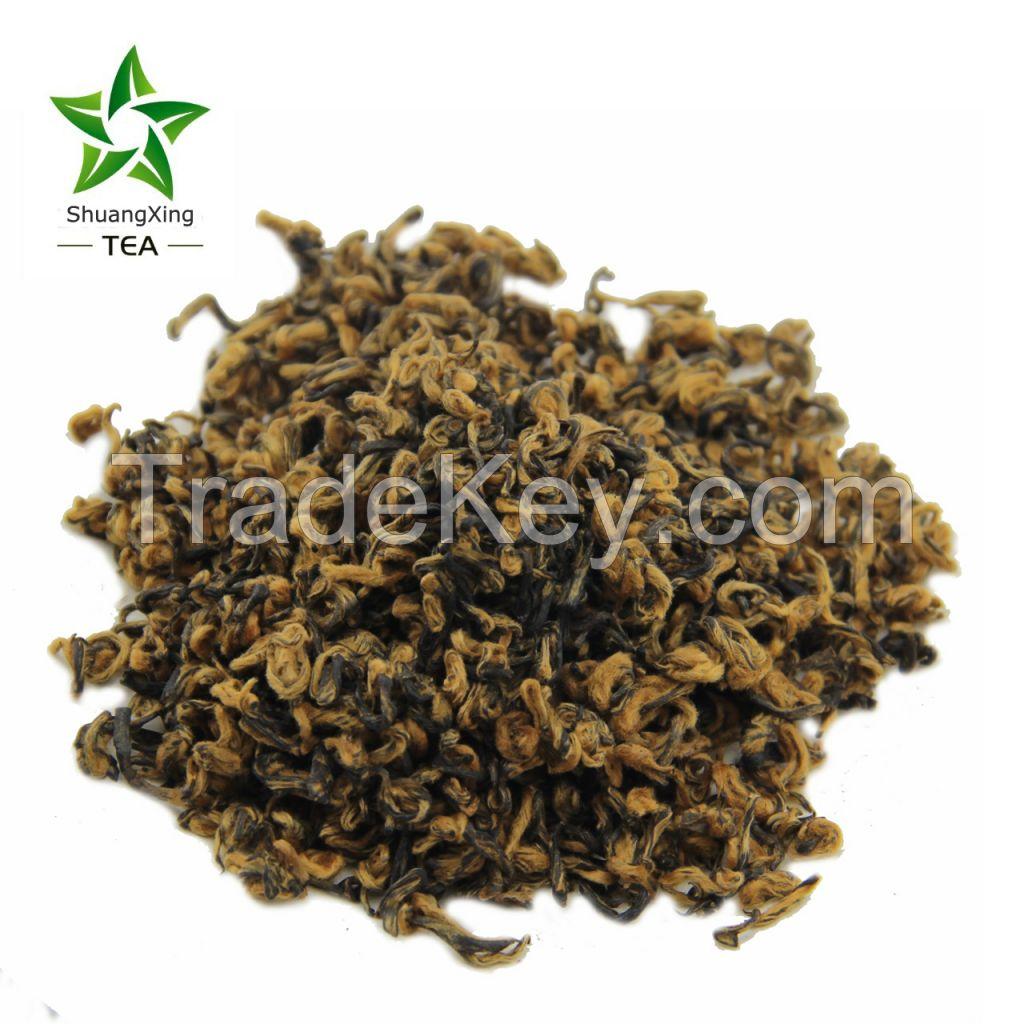 Jinjunmei black tea Jin Luo Top quality China broken black tea single bud black tea