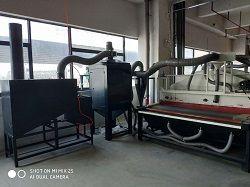 Water Filter and  Electronic Pulse Precipitator for Glass Sandblasting Machine