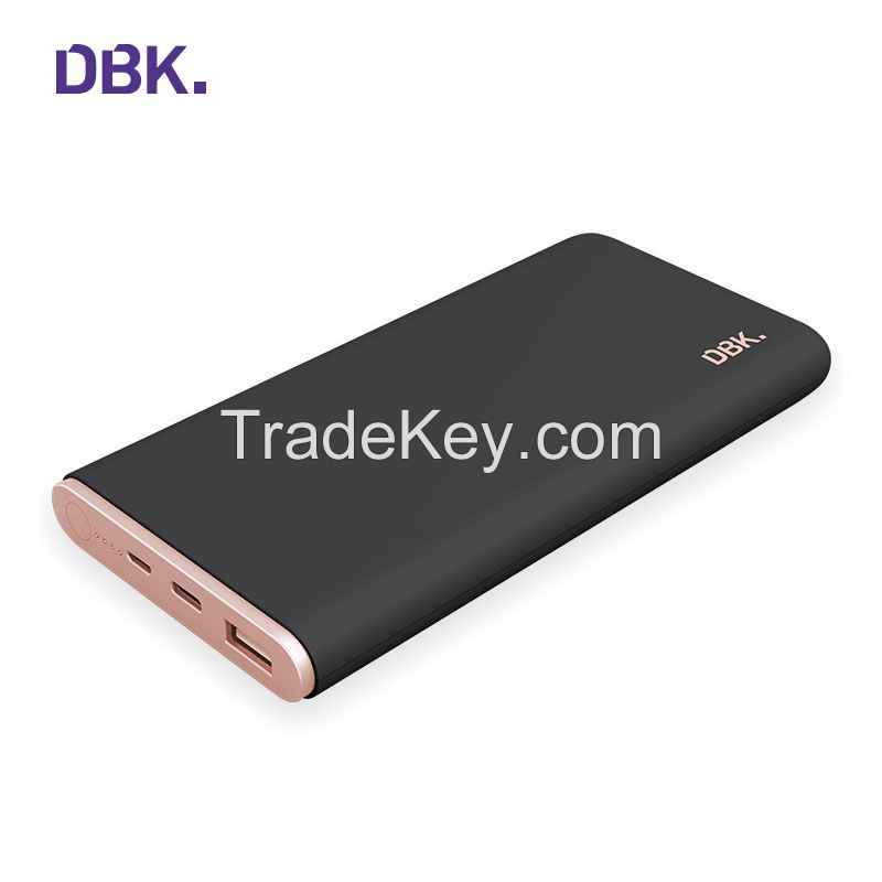 DBK C8 Portable 10000mAh Dual USB Fast Charge