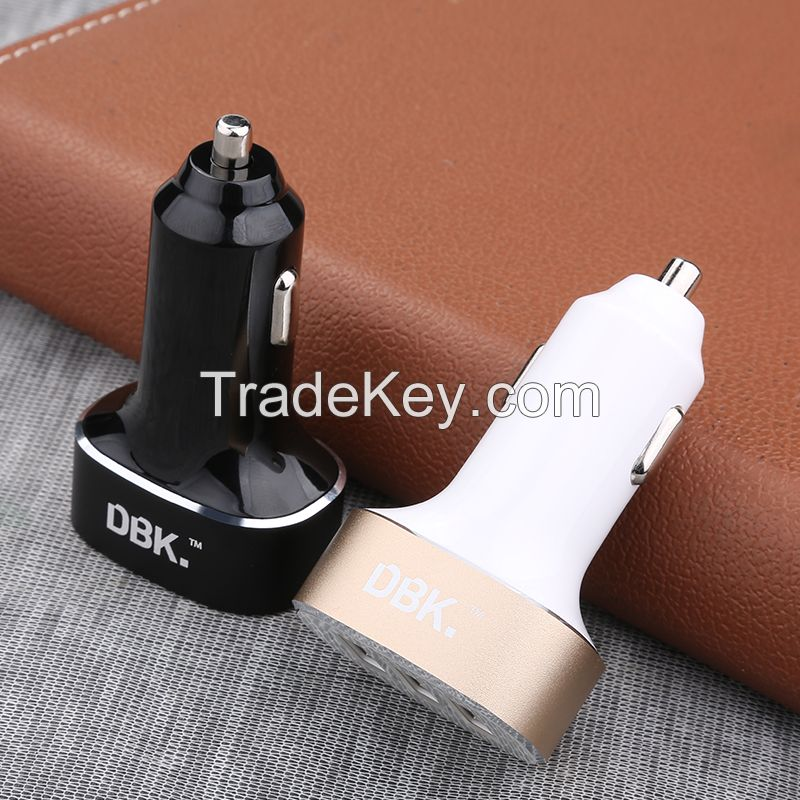 DBK CC03S 3.4A 3 Port USB Car Charger
