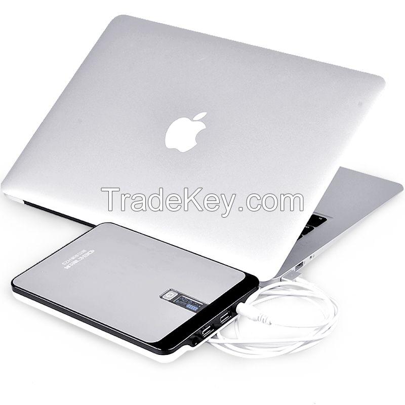 DBK H32 32000mAh Polymer Dual USB Output 2A 2.1A 4.5A DC 9V 12V 16V 19V 20V External Power Bank for Tablet PC Computer iMac Macbook