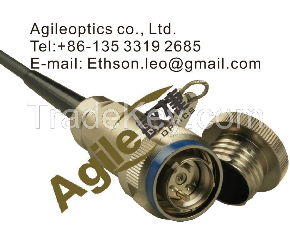 D38999 Tactical Fiber Optic Cable Connector