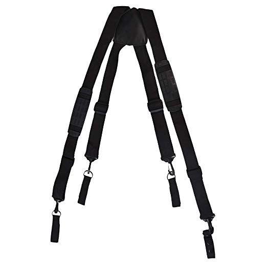 Padded Adjustable Tactical Work Heavy Duty Suspenders (SP0R1)