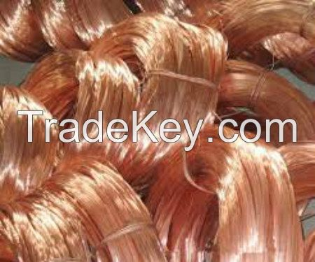 Copper Wire Scrap For Sell 99%