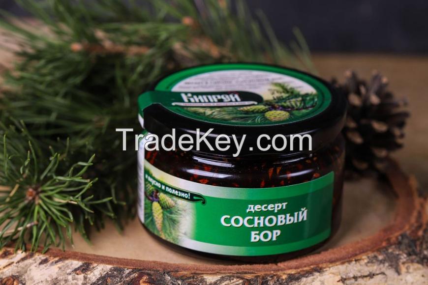 Pine cones jam, 250 g