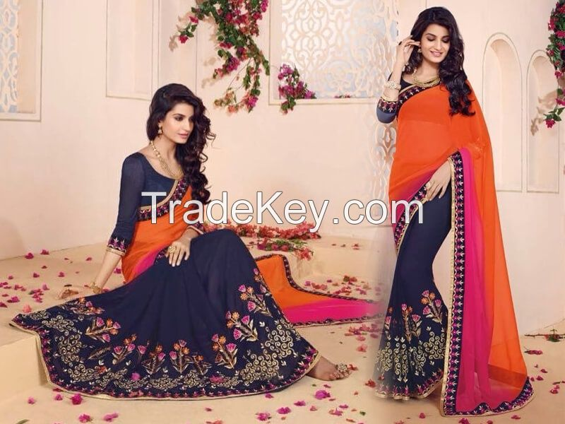 Party Wear & Casual Sarees
