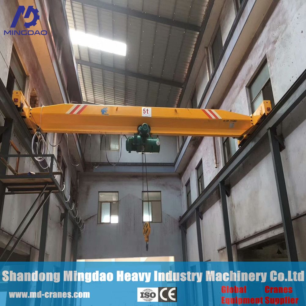 Made In China Exporter 8Ton New Condition Single Girder Overhead Cranes For Choose