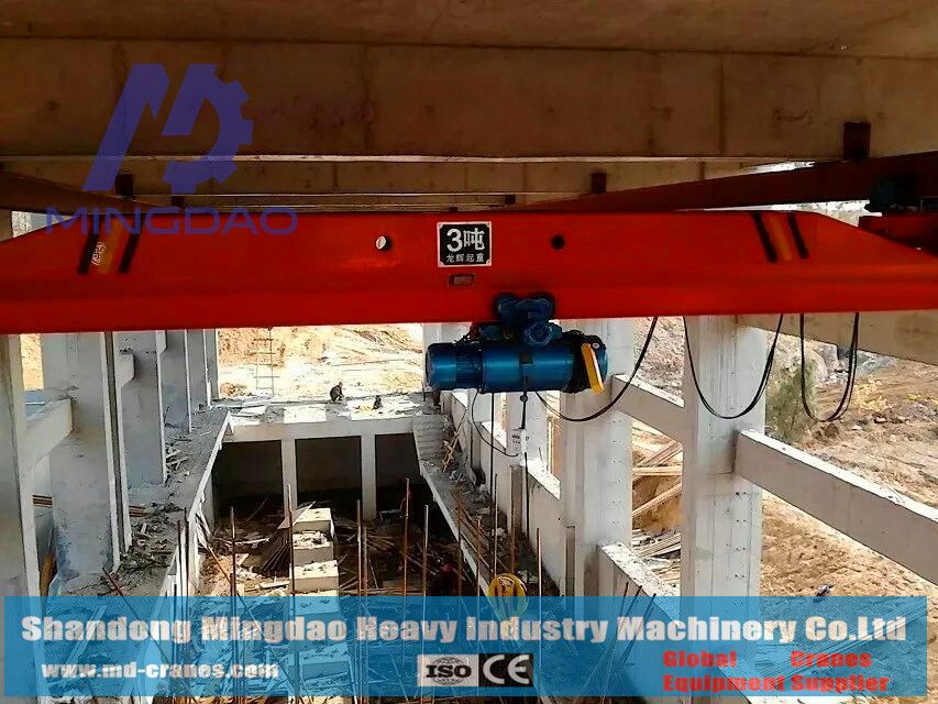 Finely Processed Factory Direct Sale 10Ton LX Model Under Hung Type Overhead Bridge Crane with Moderate Price