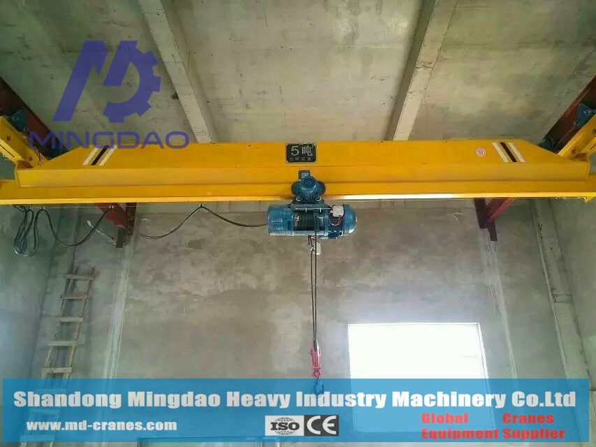 Reliable Performance Finely Processed 16Ton Under Hung Type Single Girder Overhead Bridge Crane To Increase Your Inventory