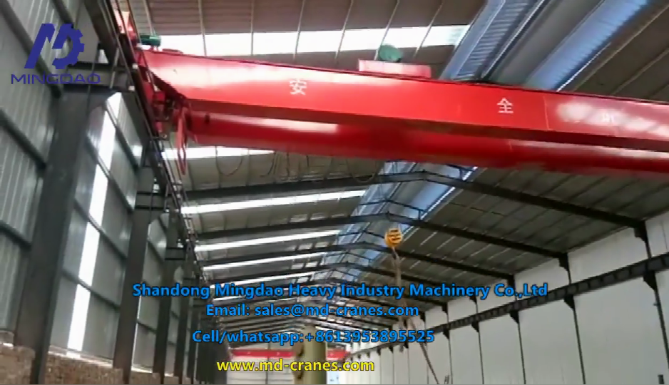 Popular Exporter After-sales Service Provided 20ton Bridge Beam Crane with Best Standard OEM