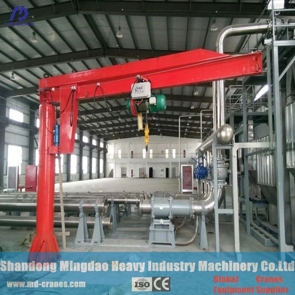 Great Variety Of Designs BZD Type 500Kg Telescopic Boom Fly Jib Crane FamousFor High Quality