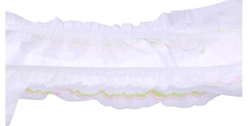 Dry surface baby diaper