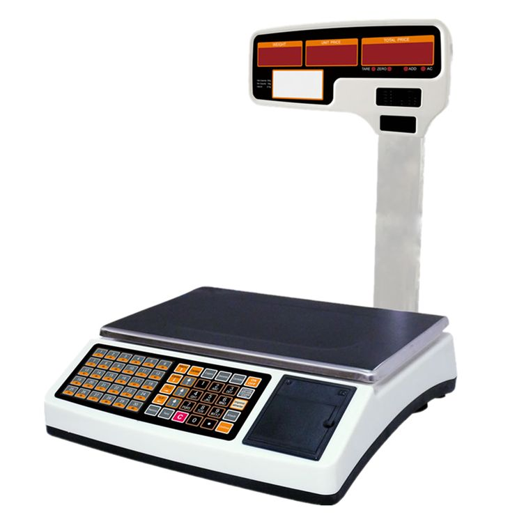 JADEVER JTP Cash Register Scale with built-in Printer