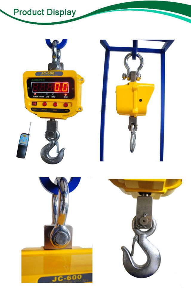 Jadever JC electronic 30t crane scale