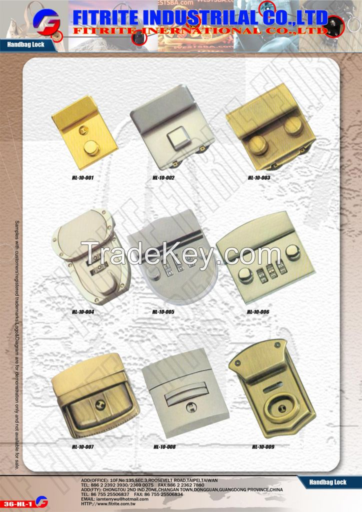 Luggage Locks, Bag Closures, Turn Locks, Pad Locks