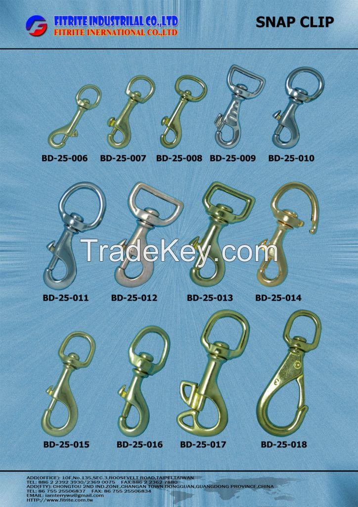 Solid Brass Buckles, Solid Brass Hooks