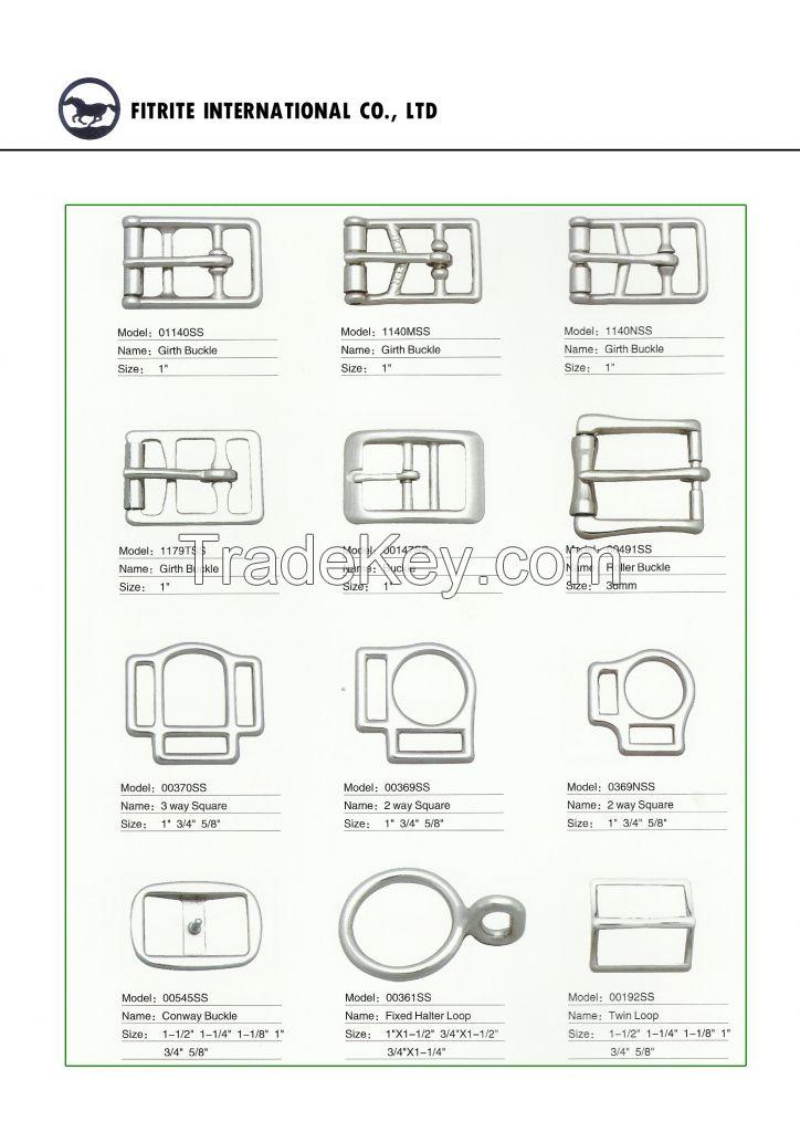 Saddlery Hardware, Fasteners