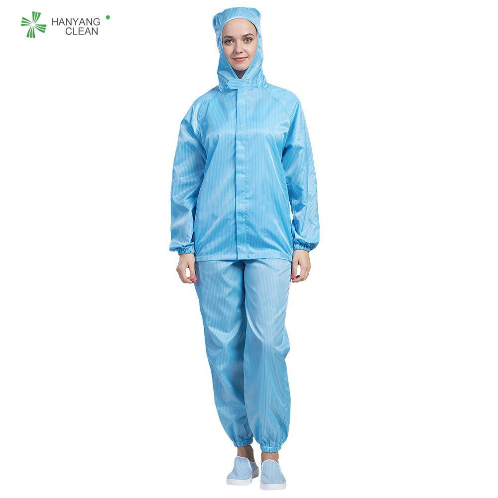 Cleanroom Antistatic garments stripe jumpsuits jackets lab coats hospital uniform