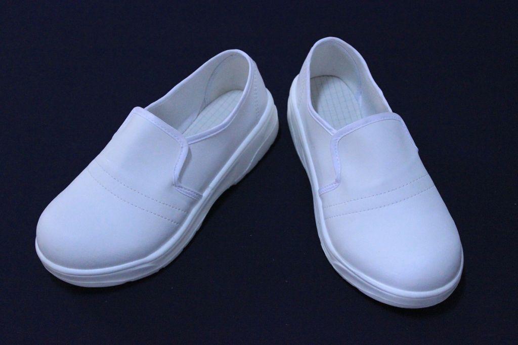 AutoclavableWhite whole PU Antistatic ESD shoes