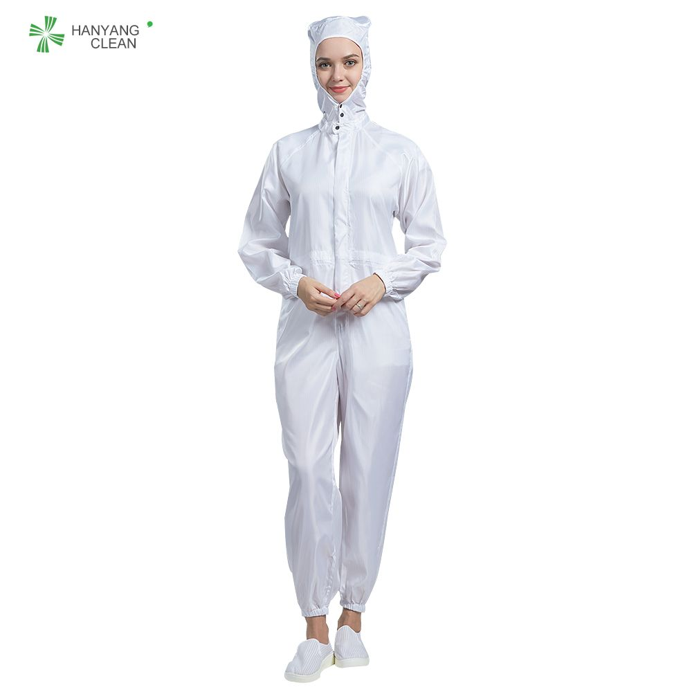 Autoclavable Cleanroom Antistatic garments stripe jumpsuits coveralls lab coats hospital uniform