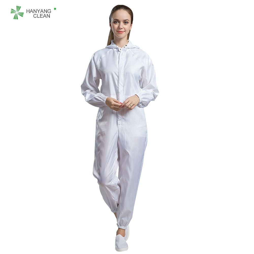 Autoclavable Cleanroom Antistatic garments stripe jumpsuits esd coveralls lab coats hospital uniform