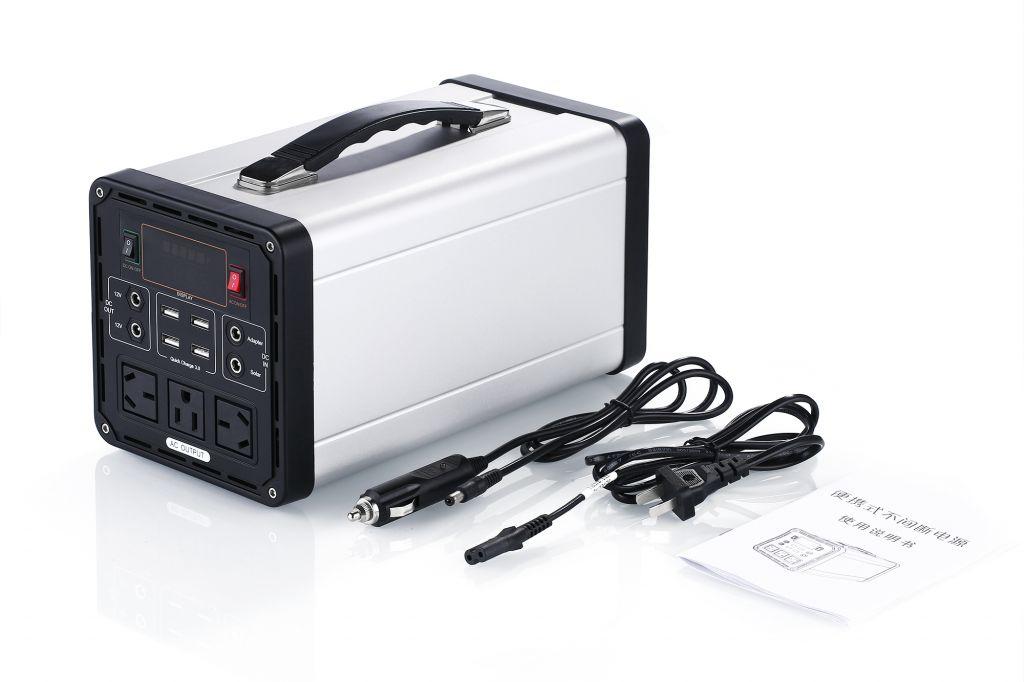 500W portable power generator FC-500U 12V 41.6Ah li-ion battery
