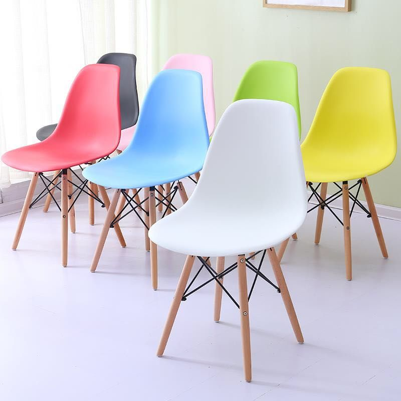 high quality living room furniture lounge PP beech wood dining chairs