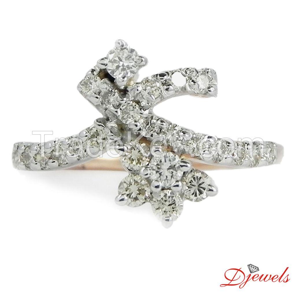 Diamond Ladies Ring Sade