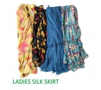 LADIES SILK SKIRT