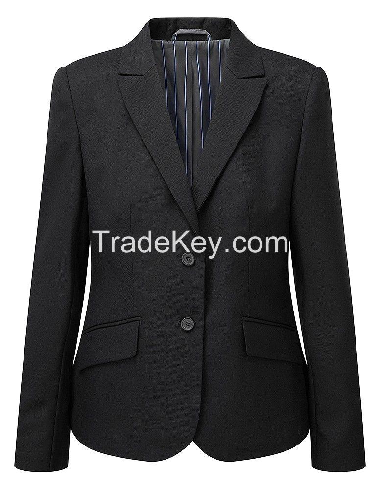 Poly / Wool Designer Girl Blazer Jacket