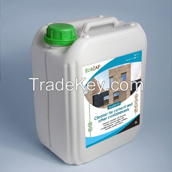 EcoZAP-21  Cleaner for cement and other contaminants