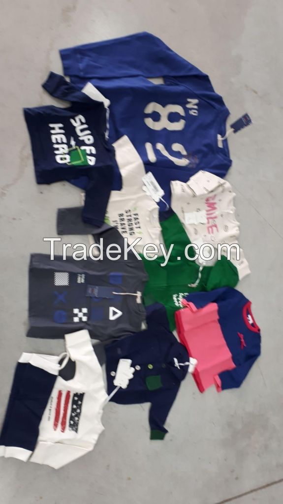 Kids branded Garment stock in Italy winter/summer 37000 pcs