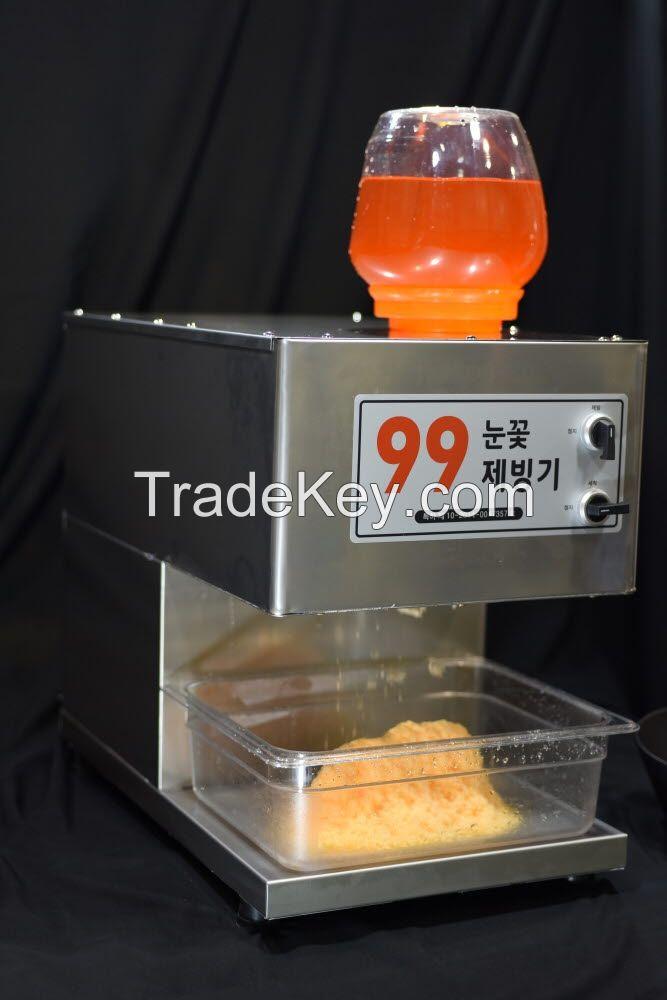 Machine for snowcone, snow cone, ice kacang, kacang, halohalo, kakigori