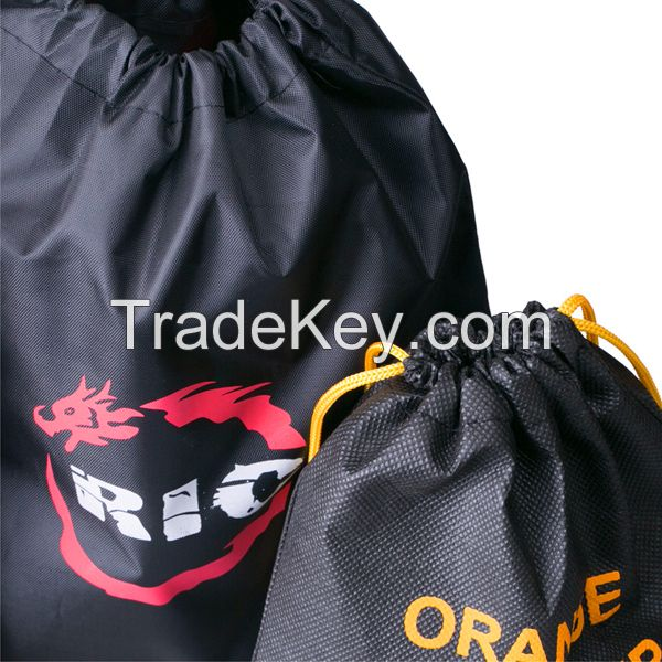 Cheap Price Reusable 210D Polyester Sublimation Printing Drawstring Backpack Gym Bag