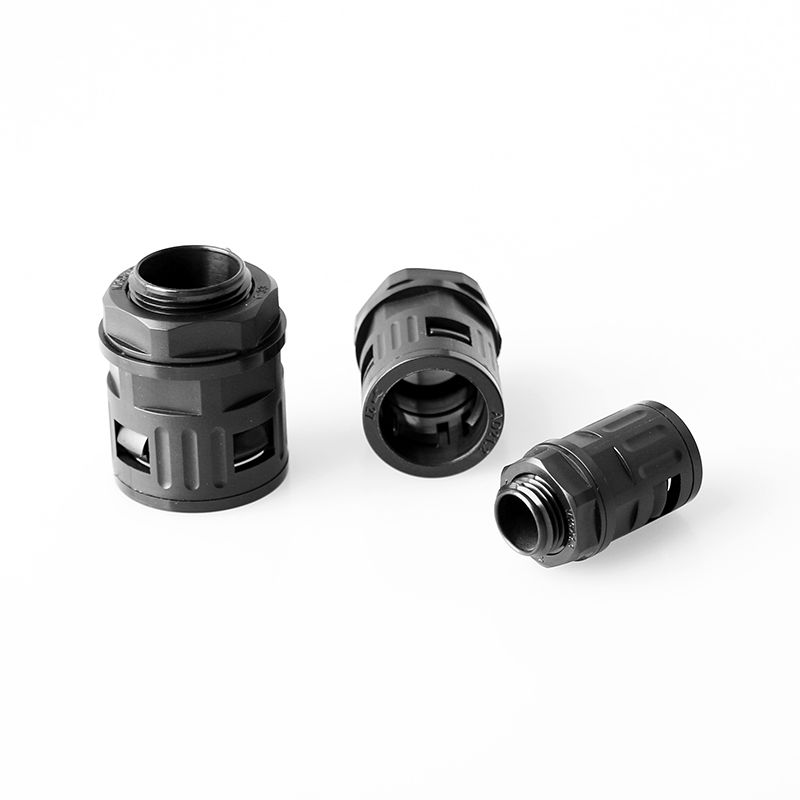 Straight Connector for Nylon Corrugated Tubings/ PA conduit PG11-AD15.8