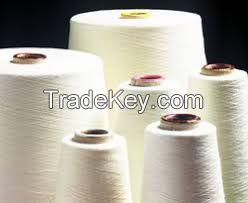 100% Raw Cotton Yarn