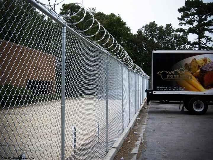 HOW TO INSTALL CHAIN LINK FENCE-dazzle industry limited