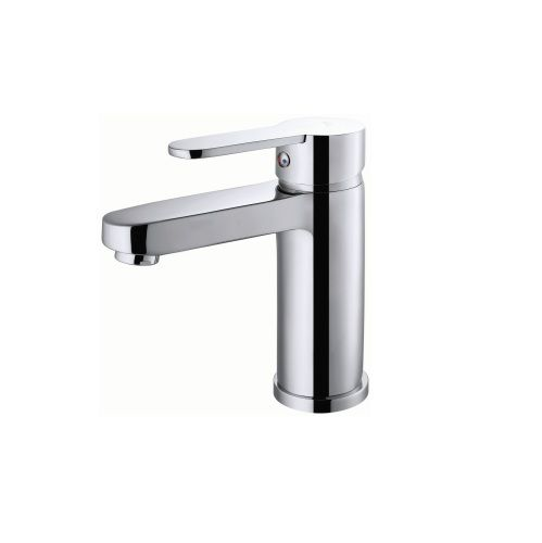 Straight Faucet Tap Mixer Basin Brass 35mm Ceramic Cartridge Chrome